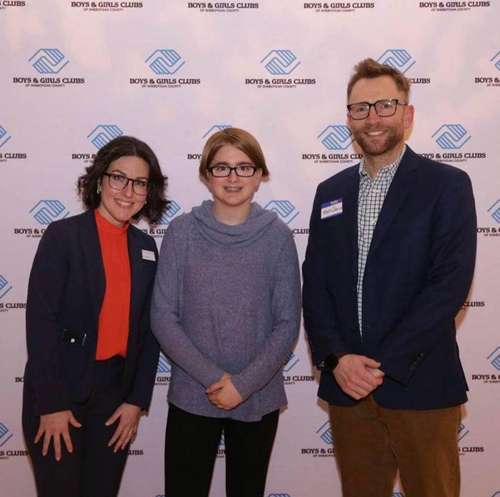 boys and girls clubs of sheboygan county junior youth of year 2019