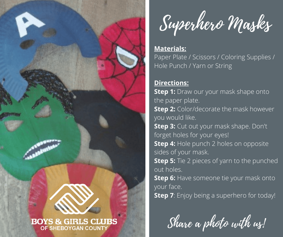 062320-Art-SUPERHERO-MASKS-Boys-Girls-Clubs-Sheboygan
